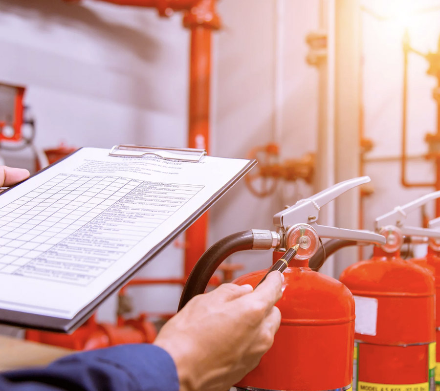 Fire Safety Inspections by Optimum Fire and Security