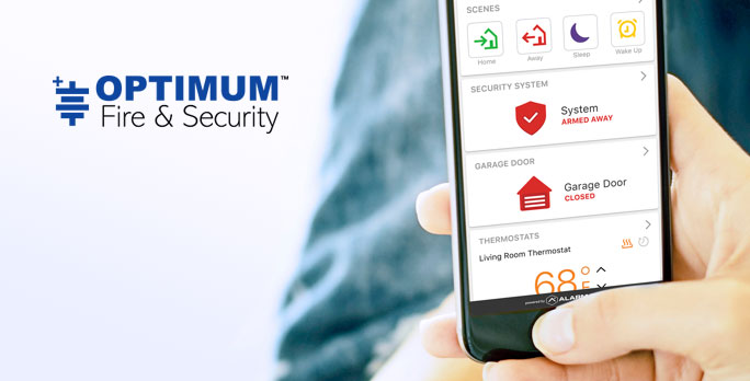 Home Security Automation by Optimum Fire & Security